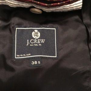 J. Crew Suits & Blazers - J Crew blue seersucker jacket, size 38S